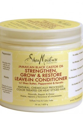 Shea Moisture Jamaican Black Castor Oil Strengthen, Grow & Restore Leave-in Conditioner