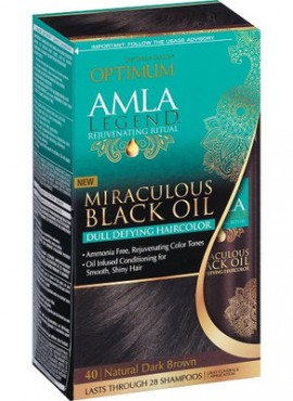 Softsheen Carson Optimum Amla Legend Miraculous Black Oil hair color