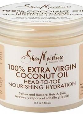 Shea Moisture 100% Extra Virgin Coconut Oil Head To Toe Nourishing Hydration