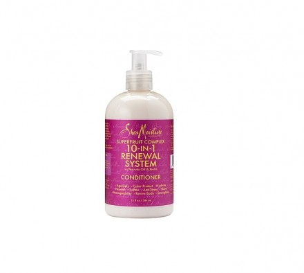 Shea Moisture 10-In-1 Renewal System With Marula Oil & Biotin Conditioner