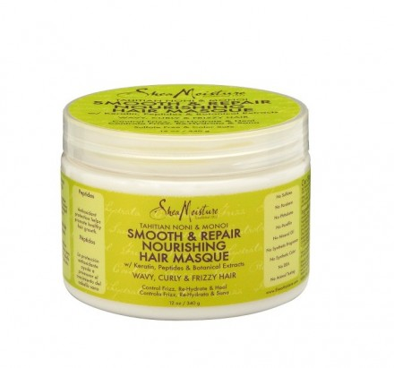 Shea Moisture Smooth & Repair Nourishing Hair Masque With Tahitian Noni & Monoi