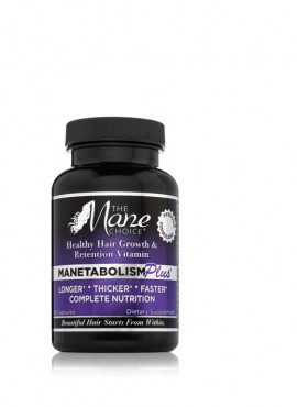 The Mane Choice Manetabolism Plus Hair Growth Vitamins