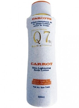 Q7 Carrot Lightening Body Lotion