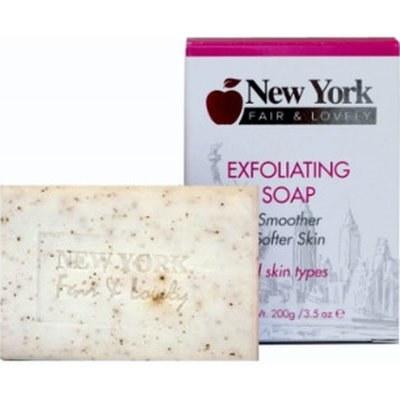 New York Fair & Lovely Exfoliating Soap