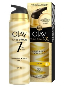 Olay Total Effects 7-in-1 Moisturiser And Serum Duo SPF 20