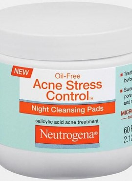 Neutrogena Oil-Free Acne Stress Control Night Cleansing Pads