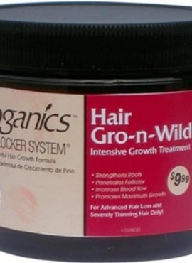 Groganics Hair Gro-n-Wild Intensive Growth Treatment
