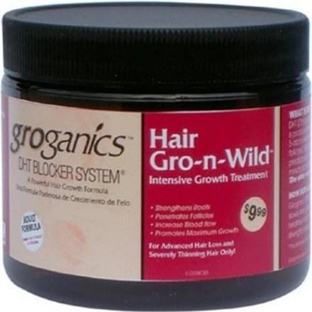 Groganics Hair Gro-n-Wild Intensive Growth Treatment