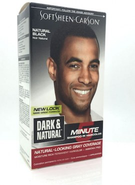 Dark & Natural 5 Minutes Shampoo-in Permanent Hair Color – Natural Black