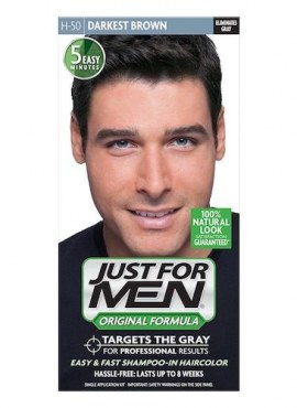 Just For Men Hair Color Original Formula – Darkest Brown