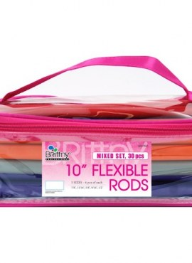 Flexible Rods Bending Hair Rollers – Mixed Set 30pcs