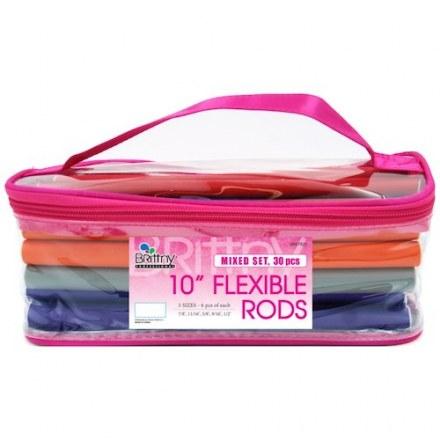 Flexible Rods Bending Hair Rollers – Mixed Set 30pcs