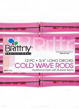 Brittny Cold Wave Rods – 12pcs 9/16″ Long