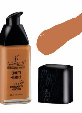 GlamGals Conceal + Perfect 2 In 1 Matt Foundation + Concealer