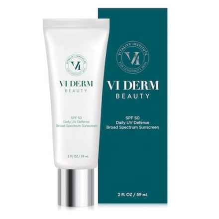 VI Derm Daily UV Defense Broad Spectrum Sunscreen SPF 50