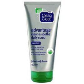 Clean & Clear Advantage Clear & Smooth Daily Scrub