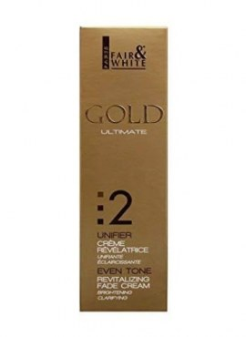 Fair and White Gold Even Tone Revitalizing Fade Cream