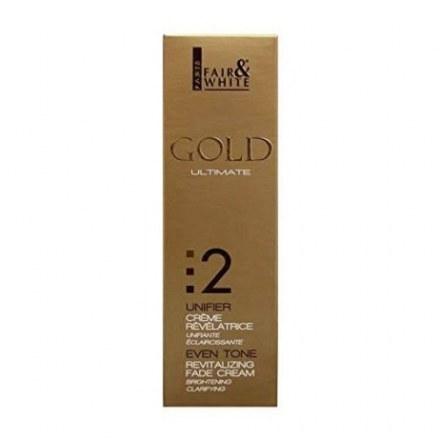 Fair and White Gold Even Tone Revitalizing Fade Cream