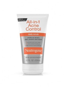 Neutrogena All-in-One Acne Control Daily Scrub