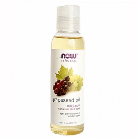 Now Solutions Grapeseed Oil 118mle