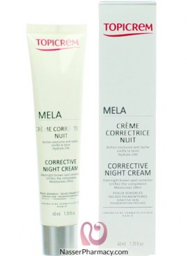 Topicerm Mela Corrective Night Cream