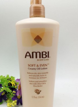 Ambi Soft and Even Creamy Oil Lotion
