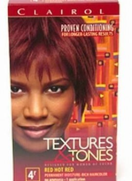Clairol Texture & Tones Red Hot Red