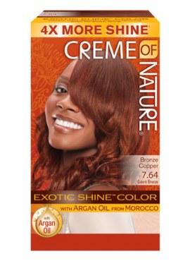 Crème of Nature Exotic Shine Color Bronze Copper