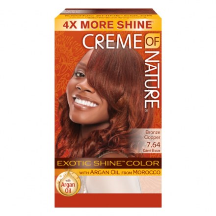 Crème of Nature Exotic Shine Color Bronze Copper