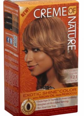 Crème of Nature Exotic Shine Color Light Golden Blonde