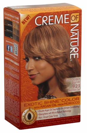Crème of Nature Exotic Shine Color Light Golden Blonde