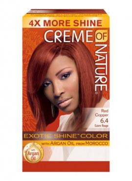 Crème of Nature Exotic Shine Color Red Copper