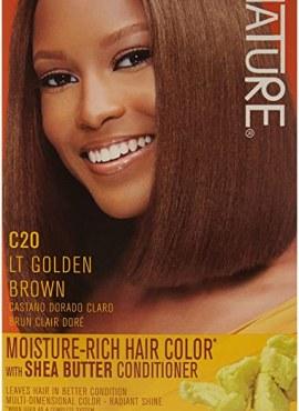 Crème of Nature Moisture Rich Hair Color Light Golden Brown