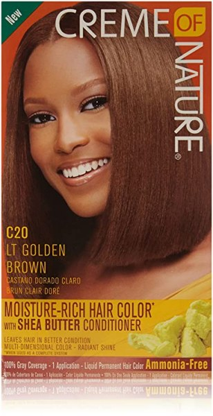 Crème of Nature Moisture Rich Hair Color Light Golden Brown