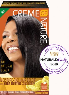 Crème of Nature Moisture Rich Hair Color Natural Black