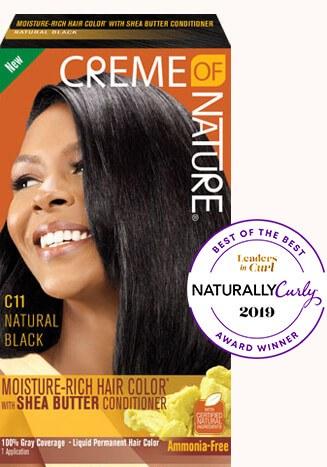 Crème of Nature Moisture Rich Hair Color Natural Black