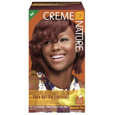 Crème of Nature Moisture Rich Hair Color Red Hot Burgundy