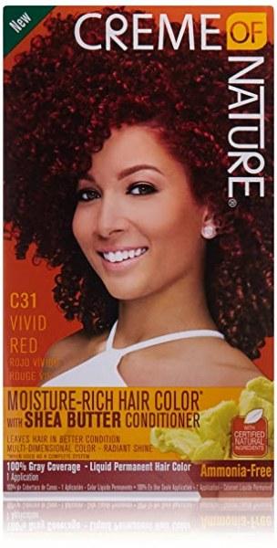 Crème of Nature Moisture Rich Hair Color Vivid Red