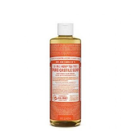 Dr. Bronners Hemp Castile Tea Tree Liquid Soap 80z