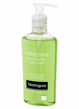 Neutrogena Visibly Clear Pore Shine and Daily Cleanser