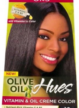 Ors Olive Oil Vitamin & Oil Crème Color Jet Black