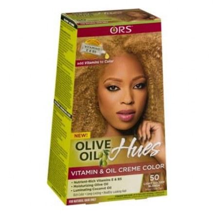 Ors Olive Oil Vitamin & Oil Crème Color Light Golden Blonde