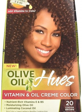 Ors Olive Oil and Vitamin & Oil Crème Color Cocoa Brown