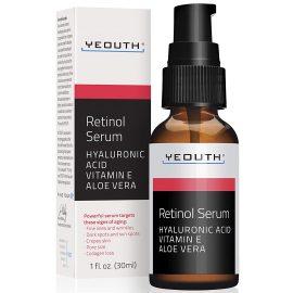 Yeouth Retinol Serum Hyaluronic Acid, Vitamin E, Aloe Vera