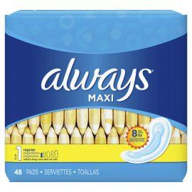 Always Maxi 48 Regular