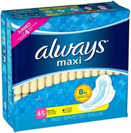 Always Maxi Pads 18 Regular