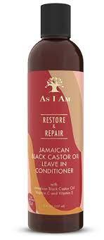 As I am Restore & Repair Jamaican Black Castor Oil Leave in Conditioner