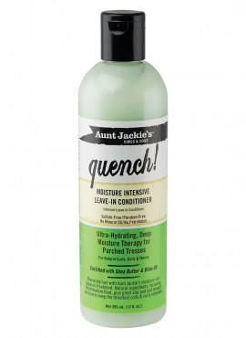 Aunt Jackie's Quench Moisture Leave In Conditioner