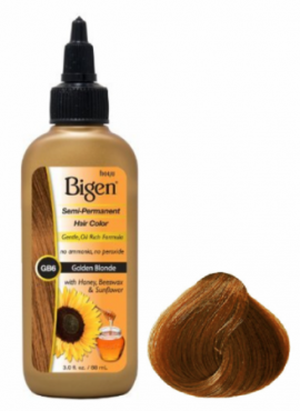Bigen Semi Permanent Hair Color Golden Blonde
