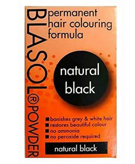 Blasol Powder Permanent Hair Colouring Formula Amber Red